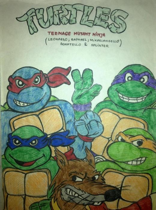 Ninja Turtles by alexandru91
